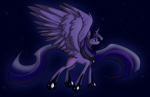 Twilight's Ascension (vectored) by mehoep