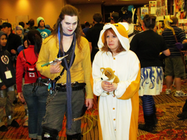 Graverobber and his... Dog? by clockworkcosplay