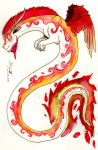 Element Dragons ~ Fire by Mortsyn