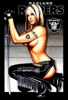 Oakland Raiders by Td4six1961