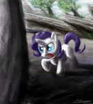 Rarity filly by Huussii