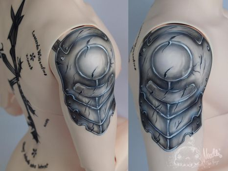 Iplehouse Arvid-tattoo by NoodlesCZ