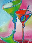 Drunk Martinis by jennfunique