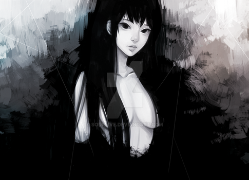 in black by Sourlive