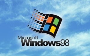 Large Windows 98 Wallpaper by jlsgraphics