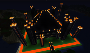 Minecraft: Fire Temple by PurgatoryDean
