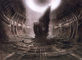 H. R. Giger XIX by CamillOnline