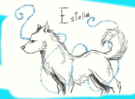 |Estella - probably unimportant new character| by AurorynDragon
