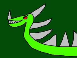 The Serpent Dragon by MikeEddyAdmirer89