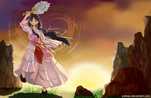 Magi - Dancing in the Wind by Polkaa
