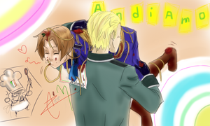 HETALIA Italy is Pasta by DeerAzeen