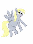 Derpy Hooves first attempt by Gotelc