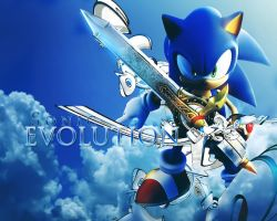 Sonic Evolution Wallpaper by LxxRRy