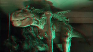 Dinosaurs in a Department Store 3D 1 by actionranger