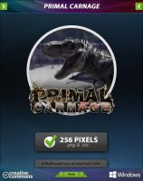 Primal Carnage Icon by tRiBaLmArKiNgS