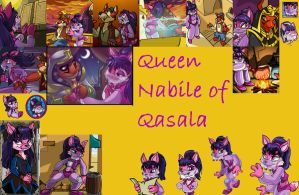 Lots of pictures of Nabile by lostdesertfan