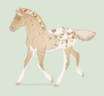 Foal #3496 Redesign by NorthEast-Stables