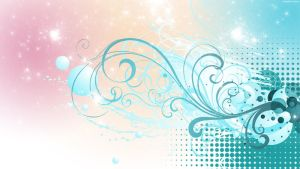 HD PastelFlourish Wallpaper by StarwaltDesign
