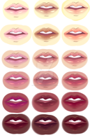 Lips by SakuraTenshi101