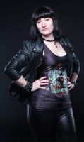 The devil in leather 1 by EMcdonaldPhotography