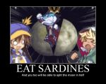 EAT SARDINES by burnfist23