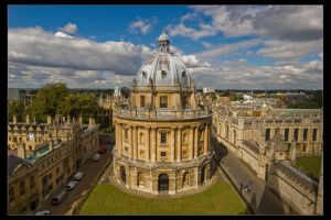 The Radcliffe Camera by Wyco