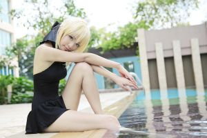 Saber_Fate hollow ataraxia by AMPLE-COSPLAY