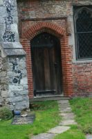 Stock Church door and path by Sheiabah-Stock