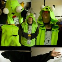 GIR Halloween Costume-Hoodie by falcoln0014
