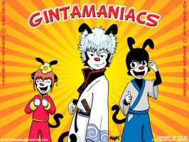 Gintamaniacs by spartydragon