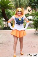 Sailor Venus is here to save the day by AriesTiger