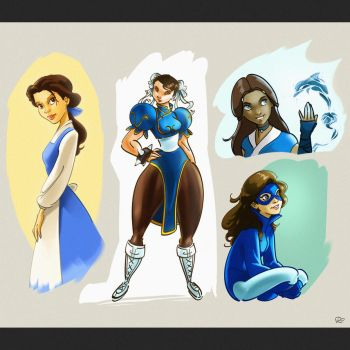 Muses by RayOcampo
