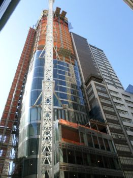 50 West Street-Under Construction by towerpower123
