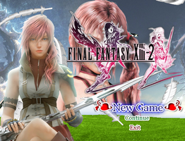 RPG Prj.: Final Fantasy XIII-2 - AfterLife (Titel) by SilverMoonCrystal