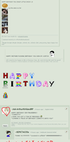 My Fave 'Happy Birthday' Messages Pt.1 by XEPICTACOSx