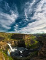 Palouse Falls by lee-orr