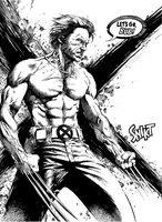 Wolverine by anghorkheng