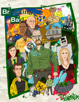 breaking bad by Ponomer