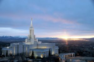 LDS Temple - Bountiful Utah by CamPantsTheThird