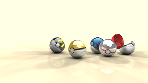Pokeball wallpaper background by krunchh