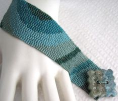 Early Morning Tidal Pool Cuff by SandFibers