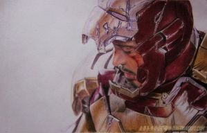 Tony Stark Iron Man 3 by A-D-I--N-U-G-R-O-H-O