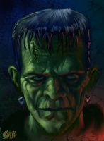 SPEED PAINT 'Frankenstein' by Grimbro