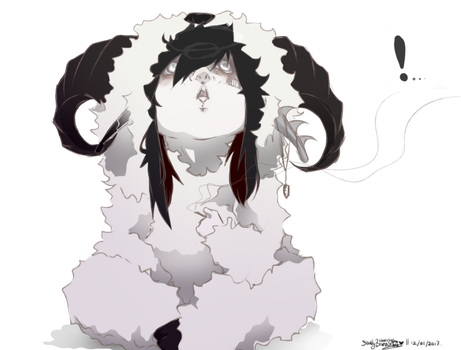 Ai Sheepin around PNG by SkullyBones130