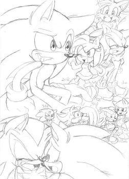 Sonic Doodlezzz : 13 by Narcotize-Nagini