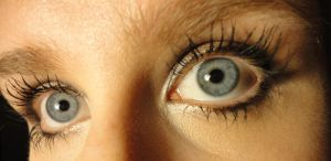 Eye Study: Up and Left by PeacefulSeraph