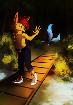 A day in the Forest by CrashyBash