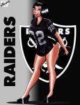 Diana's Raiders Pin Up by ImfamousE