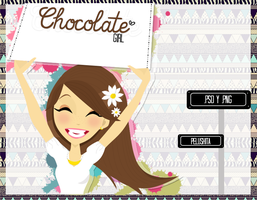 Chocolate girl by PelushitaPetisuit