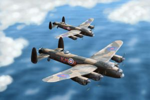 Lancaster Bomber by mike-a